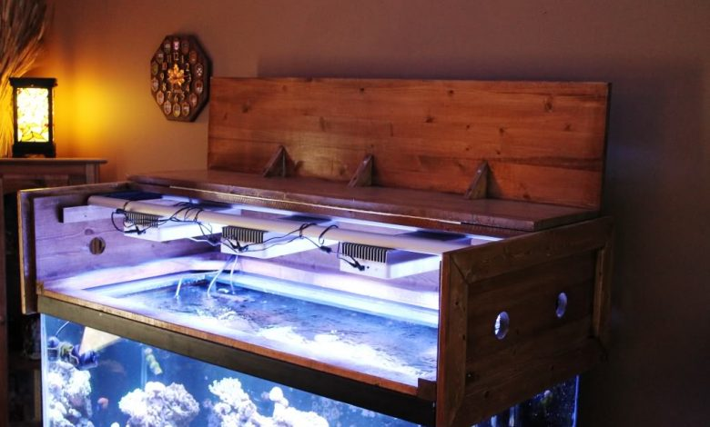 How to Make a Fish Tank Light Hood?